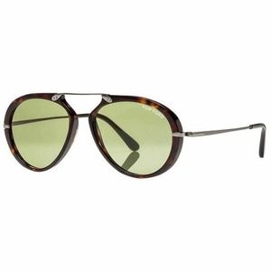 Tom Ford Aaron Sunglasses Green Lens